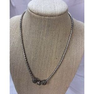 "Lois Hill 16"" necklace."